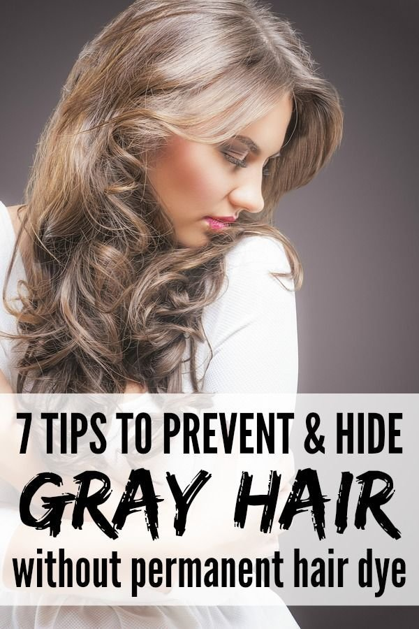The Best Preventing And Hiding Gray Hair Without Permanent Hair Dye Pictures