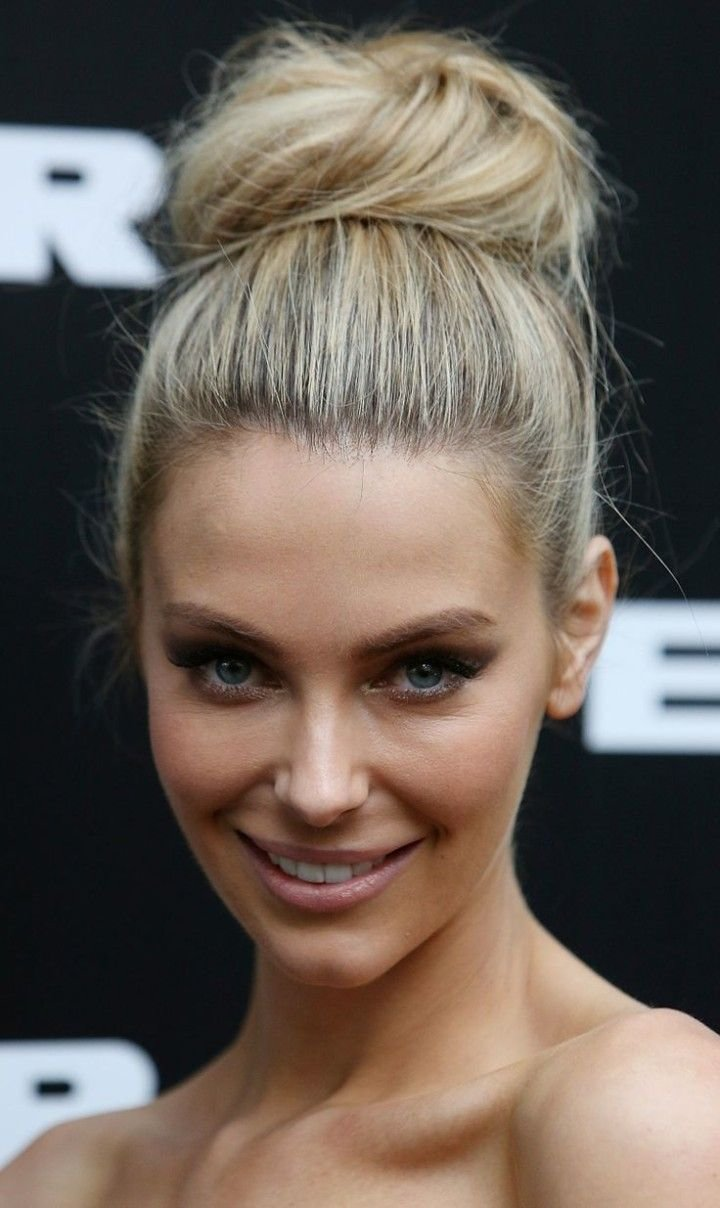 The Best 25 Best Ideas About High Bun Hairstyles On Pinterest Pictures