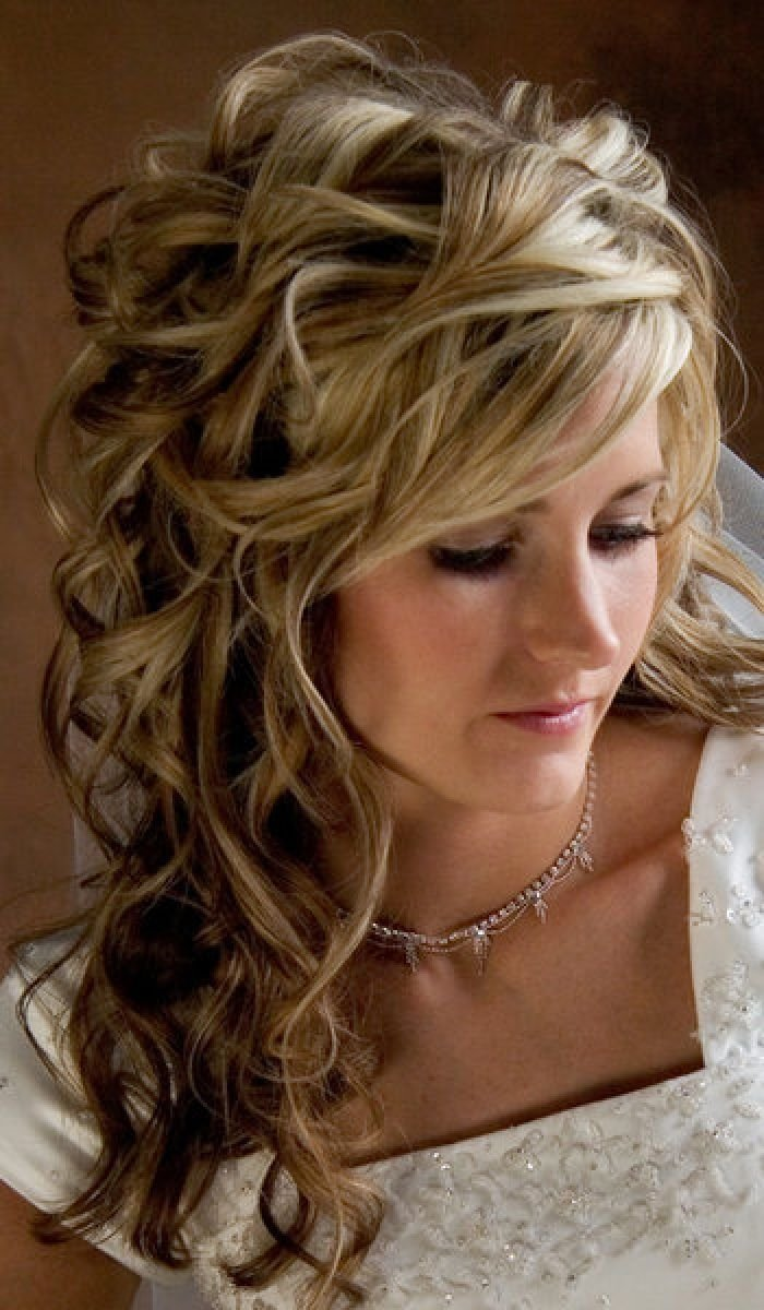 The Best Wedding Hairstyles Long Curly Hair Design 350X600 Pixel Pictures