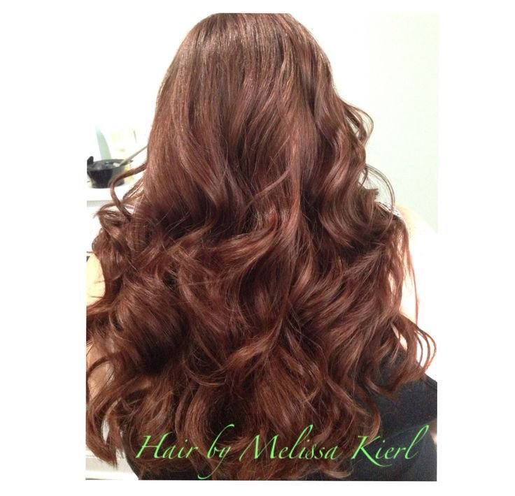 The Best Auburn Hair Color With Curls Matrix Socolor Zone 1 3 Pictures