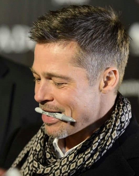 The Best Best 25 Brad Pitt Haircut Ideas On Pinterest Angelina Pictures