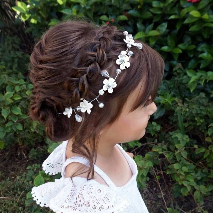 The Best 1000 Ideas About Flower Girl Hairstyles On Pinterest Pictures