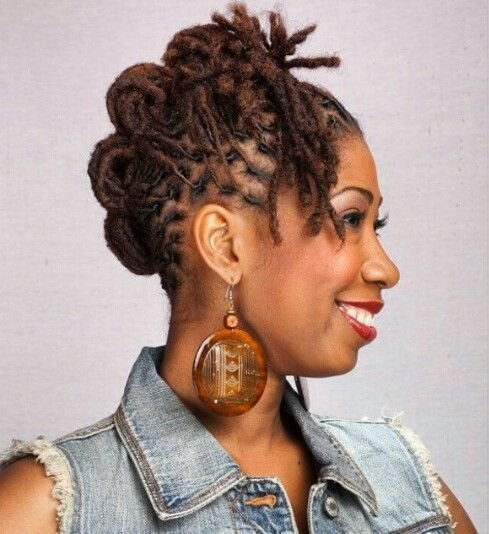 "The Best Curlynugrowth "" Short Medium Length Loc Style "" Locs Pictures"