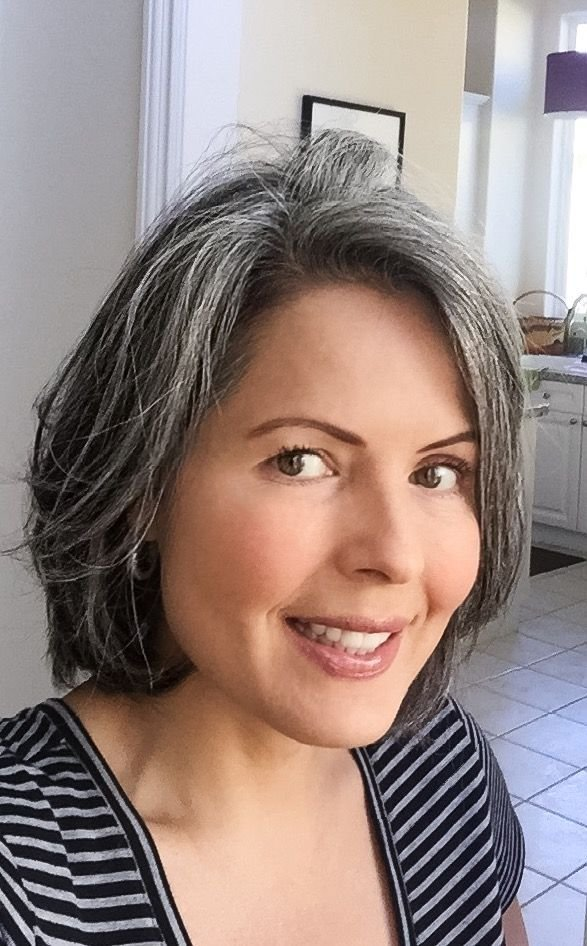 The Best 92 Best Images About Growing Out My Gray Hair On Pinterest Pictures