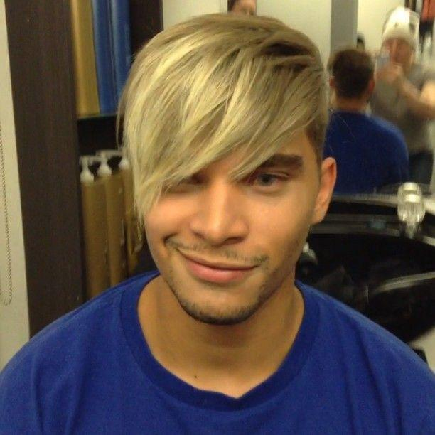 The Best Guy Tang Created A Male Ombre With Icy Blonde Tips With Pictures