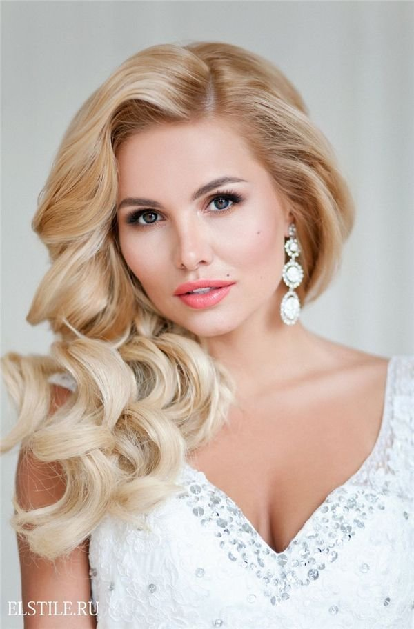 The Best Style Ideas 20 Modern Bridal Hairstyles For Long Hair Wedding Brides And Diy Wedding Makeup Pictures