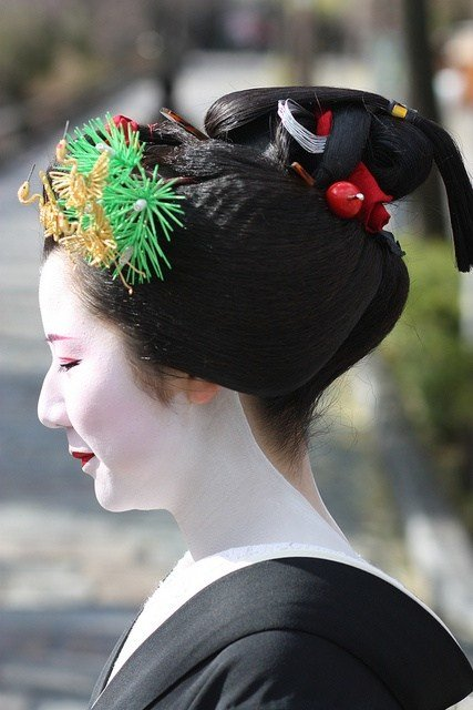 The Best 66 Best Images About Japanese Traditional Hairstyles On Pictures