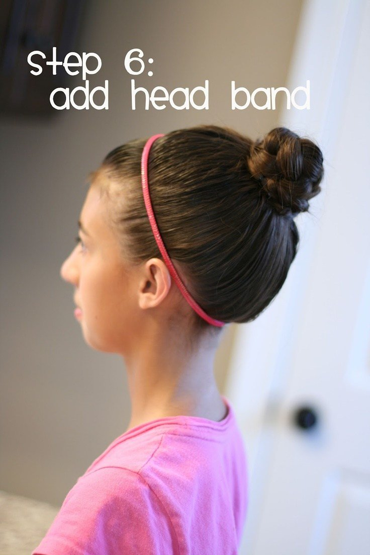 The Best Hair Today Tween Bun For Lazy Days Girl Hair Pictures