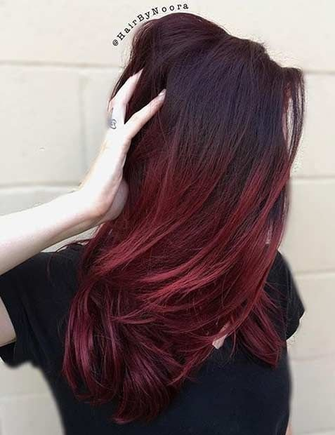 The Best 25 Best Ideas About Red Highlights On Pinterest Brown Hair Red Highlights Red Violet Pictures