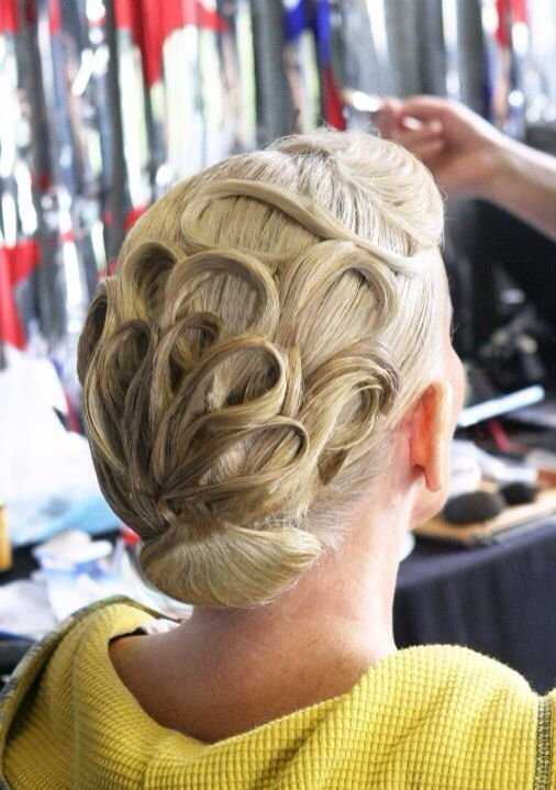 The Best 167 Best Images About Ballroom Hair Makeup And Accessories On Pinterest Comb Over Big Pictures