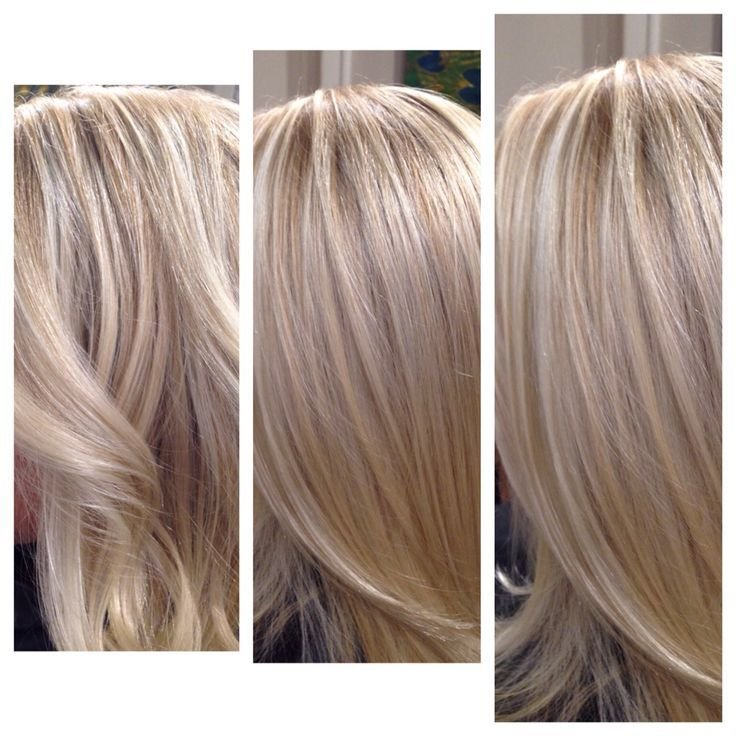 The Best Blonde Blended Babylights Highlights Using Two Different Pictures