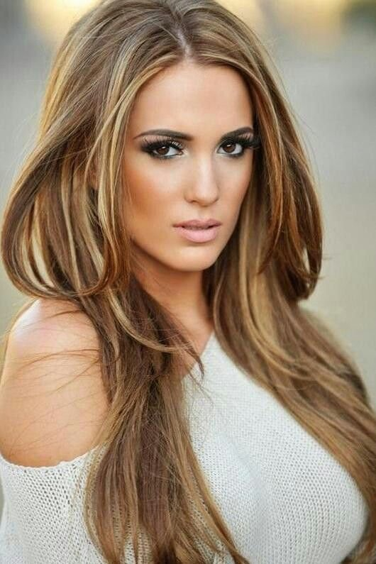 The Best Medium Brown With Beige Color Highlights Hair Pictures