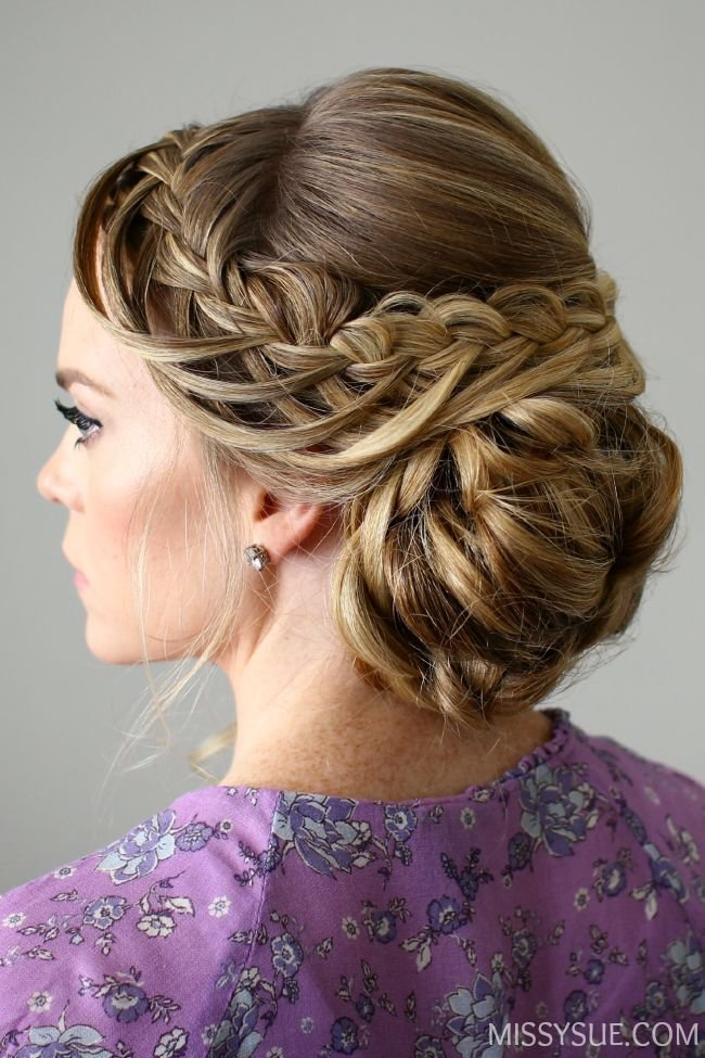 The Best Looped Braid Updo Hair Tutorials Pinterest Updo And Braids Pictures