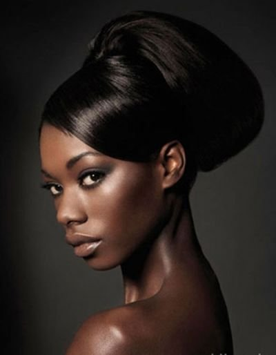 The Best Wedding Updo Style For African American Women Wedding Pictures