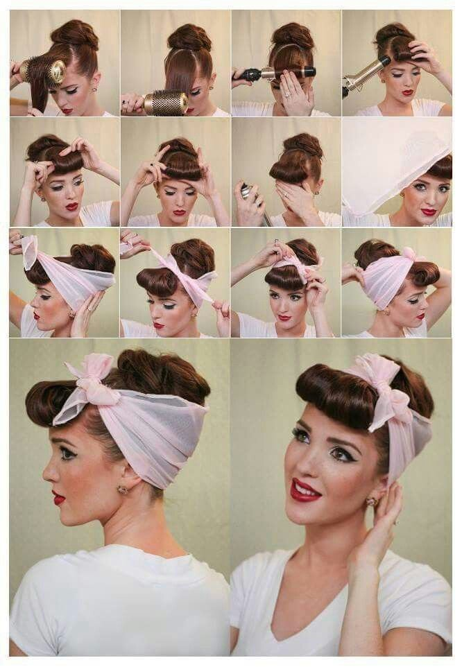 The Best 17 Best Ideas About 50S Hair Tutorials On Pinterest Pictures