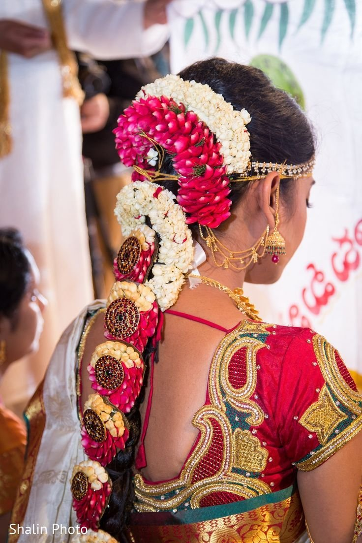 The Best 79 Best Images About South Indian Bridal Hairstyle On Pictures