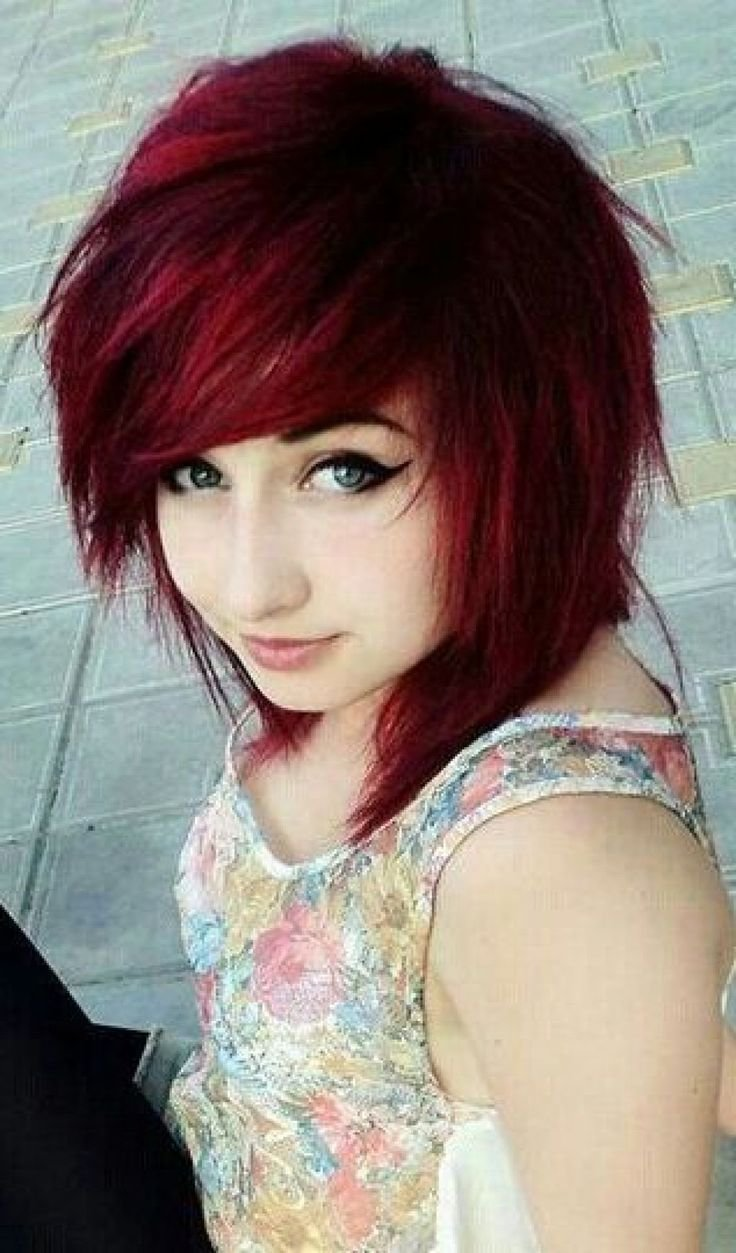 The Best 15 Cute Emo Hairstyles For Girls 2015 Emo Hairstyles Pictures