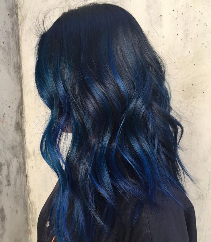 The Best 25 Best Ideas About Blue Hair Highlights On Pinterest Pictures