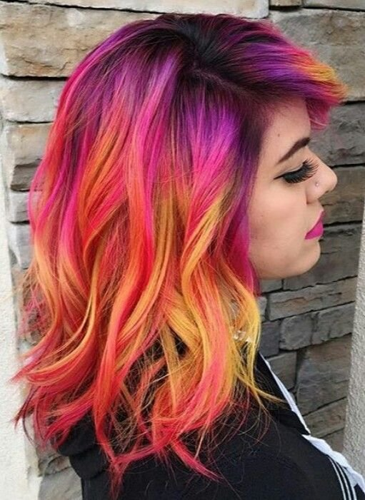 The Best 25 Best Ideas About Bright Hair Colors On Pinterest Pictures