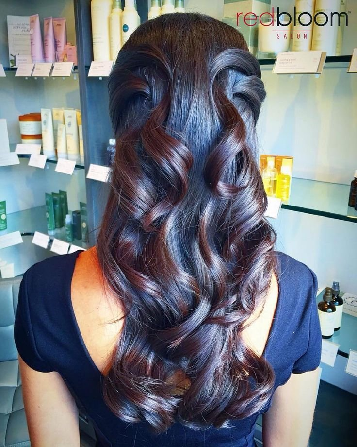 The Best 25 Best Ideas About Special Occasion Hairstyles On Pinterest Bridal Hair Plaits Half Long Pictures