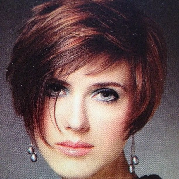 The Best Short Hairstyles With Highlights Lowlights Short Layered Pictures