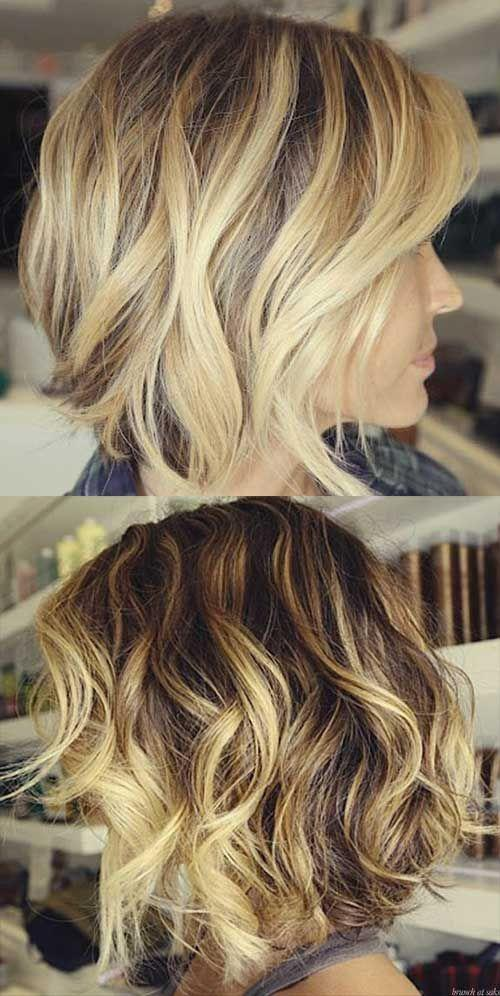 The Best 15 Short Blonde Highlighted Hair Brown Hair With Blonde Pictures