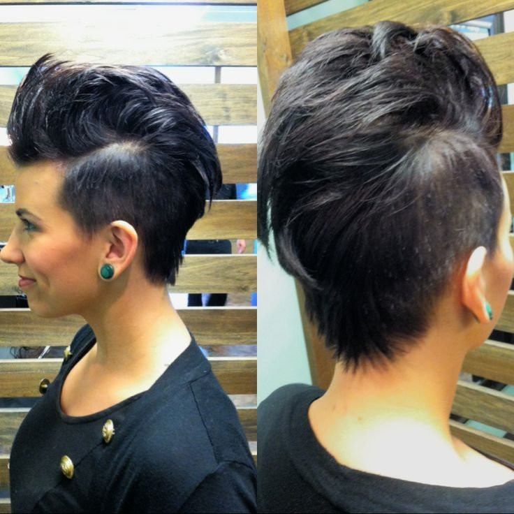 The Best Hair By Dilley Female Mohawk Love This Short Daring Pictures