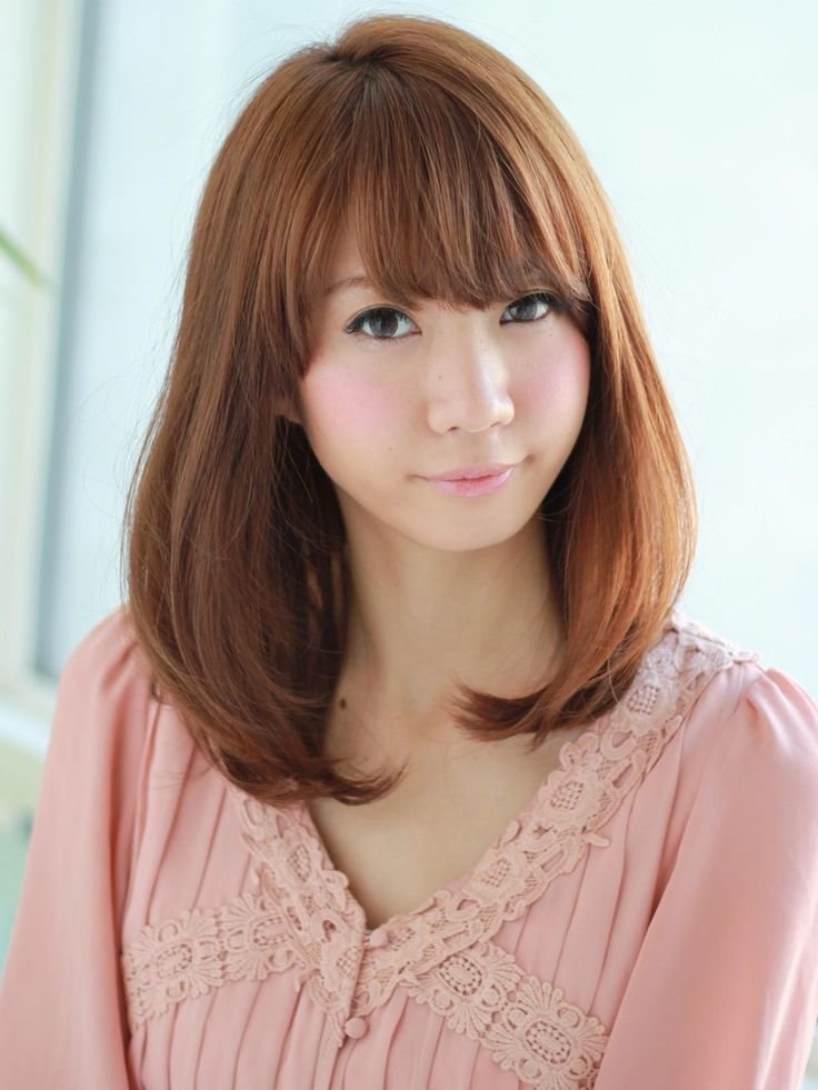 The Best Asian Medium Hair Cuts N*K*D Images Pictures