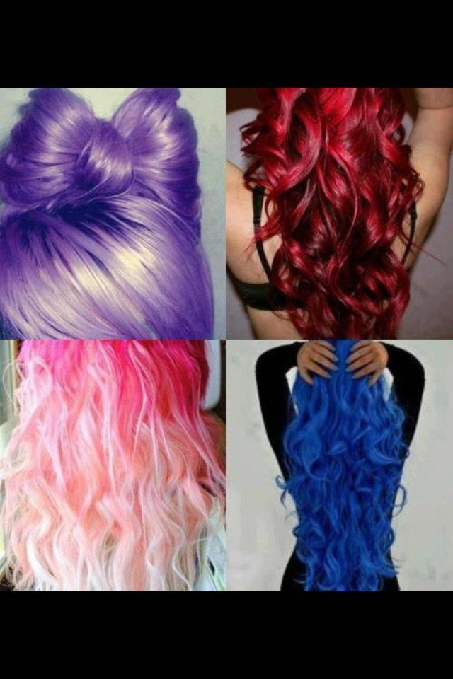 The Best Different Color Hair Weird Hair Color Pinterest Pictures