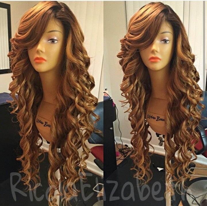 The Best 17 Best Images About Curly Weave Hairstyle On Pinterest Pictures
