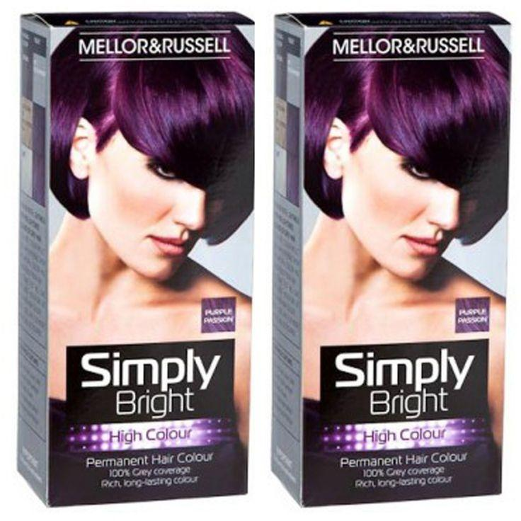 The Best 1000 Ideas About Permanent Purple Hair Dye On Pinterest Pictures