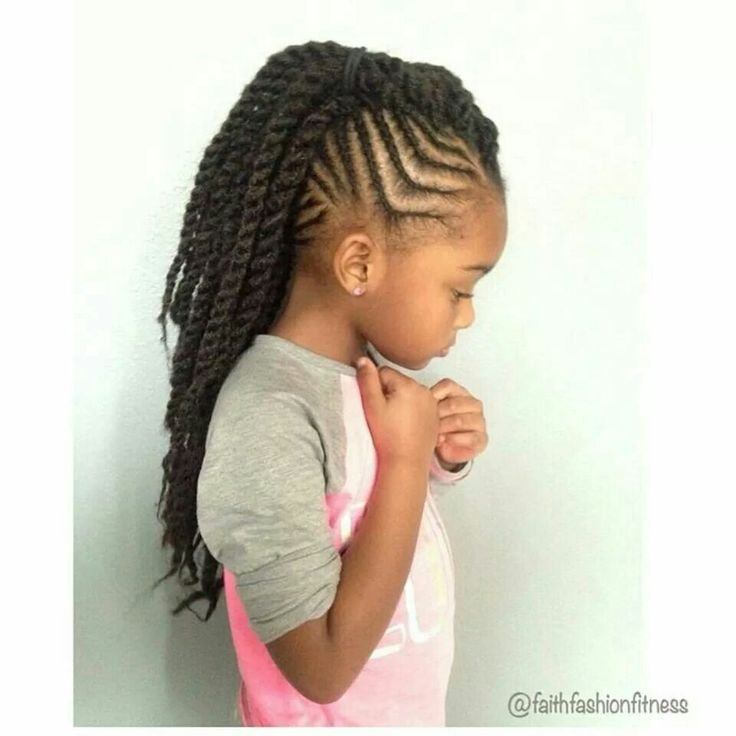 The Best Braids With Twisted Mohawk Ponytail Braids Pinterest Pictures