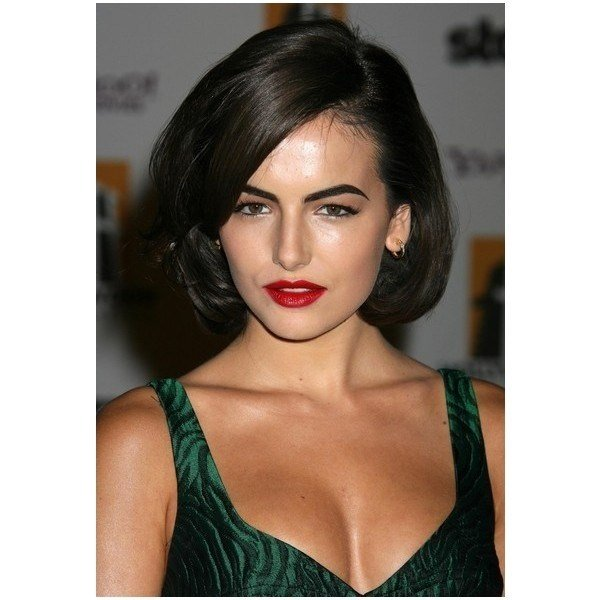The Best Medium Length Hairstyles Behind The Ear Mid Neck Hair One Pictures