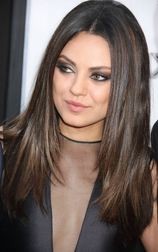 The Best 13 Best Images About Dark Brown Hair With Highlights Pictures