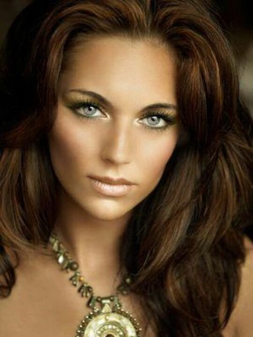 The Best Hair Colors For Olive Skin And Blue Eyes Recipes To Cook Pictures