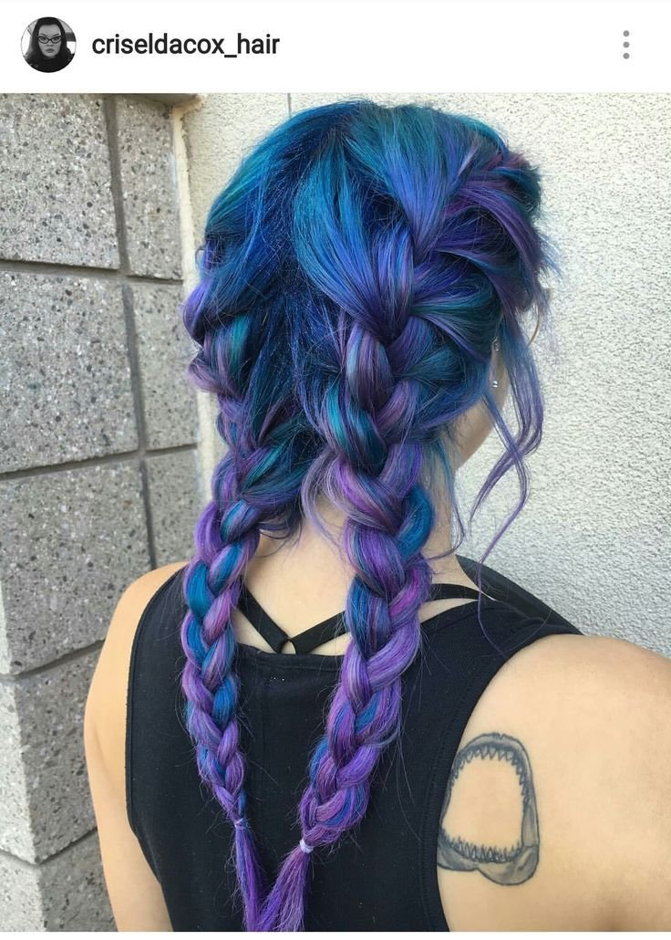 The Best 25 Best Ideas About Blue Purple Hair On Pinterest Pictures