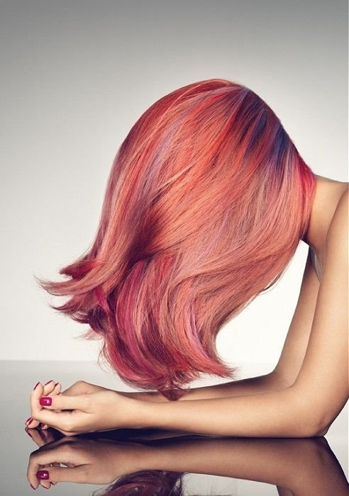 The Best Multi Tonal Pink Hair Color Hair Nails Pinterest Pictures