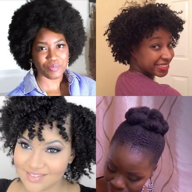 The Best 4 Styles For The Awkward Hair Growth Stage Girls With Pictures