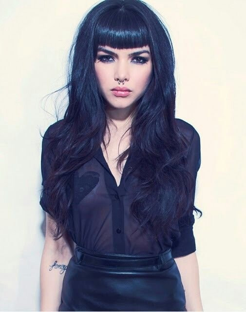 The Best Best 25 Edgy Long Hair Ideas On Pinterest Edgy Bob Pictures