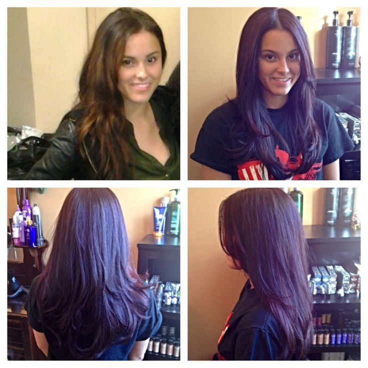 The Best Red Violet Hair Color From Paul Mitchell Sara Renee Salon Sara Renee Salon Pinterest Pictures