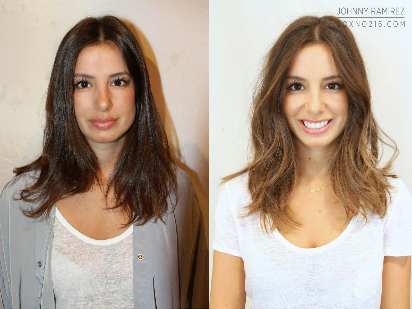 The Best Before And After A Color Transformation In Nyc Box No Pictures