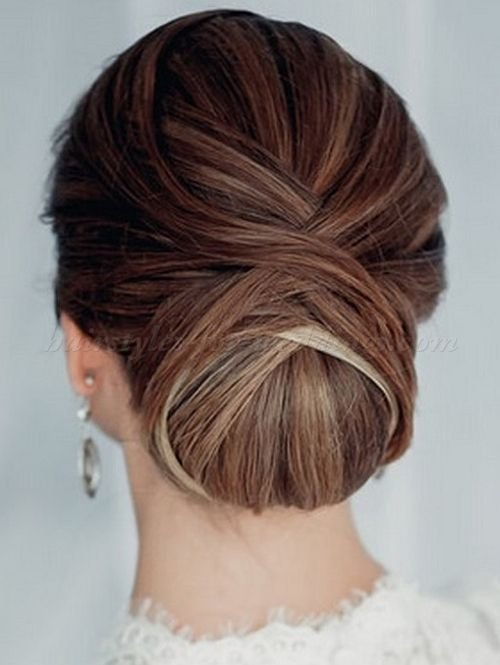 The Best Low Chignon Wedding Updos Low Bun Wedding Hairstyle Pictures