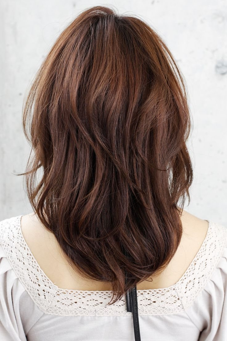 The Best Medium Hairstyles Front And Back Views Of Short Hairstyles Pictures