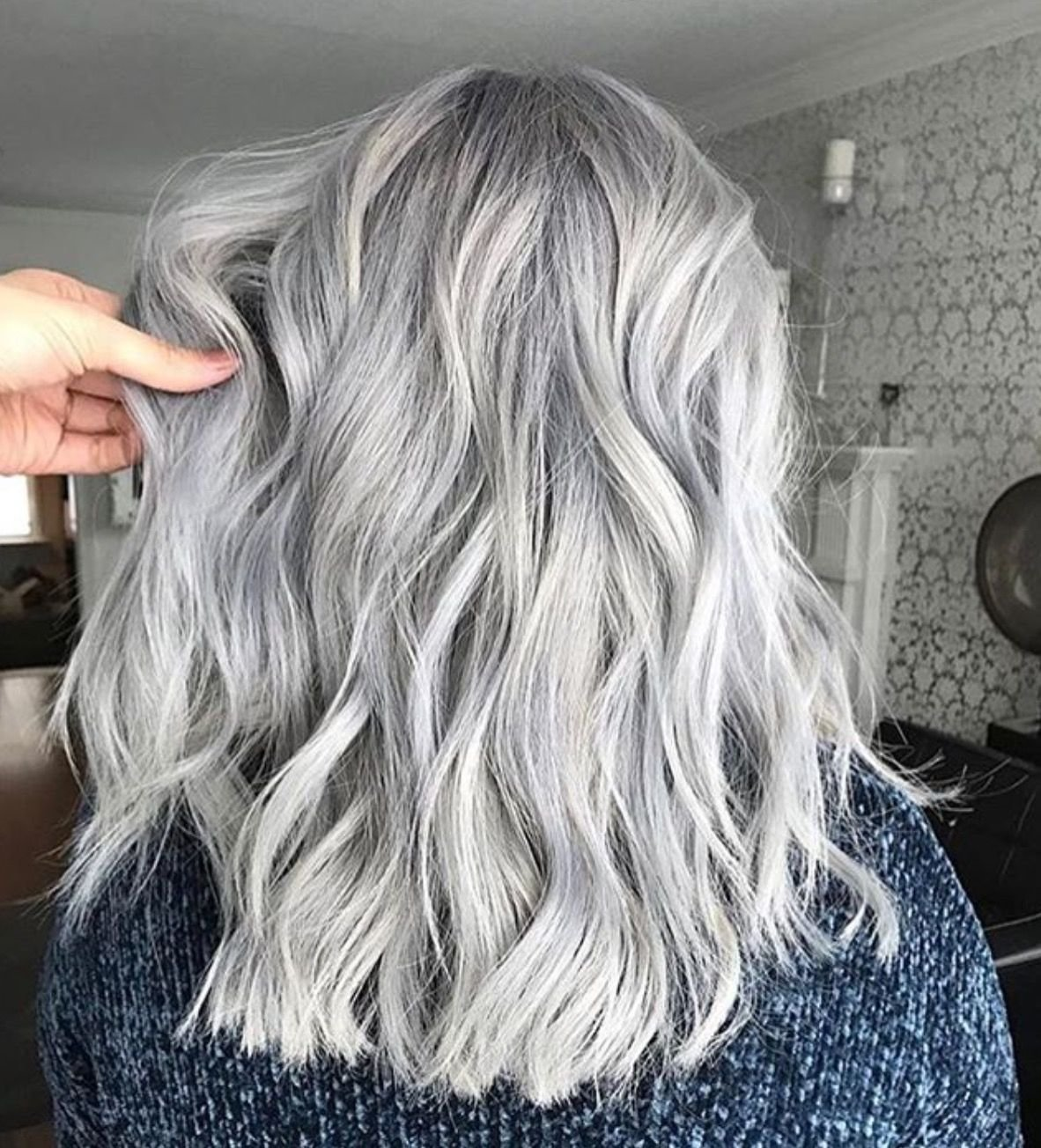 The Best The 25 Best Hair Color Silver Grey Ideas On Pinterest Gray Silver Hair Grey Dyed Hair And Pictures