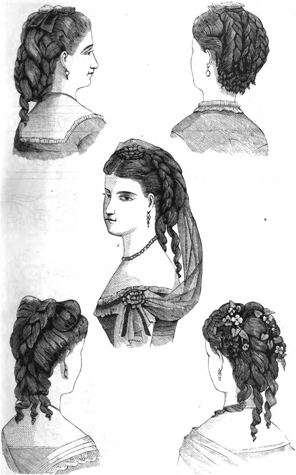 The Best 19Th Century Historical Tidbits 1870 Hair Fashions Pictures
