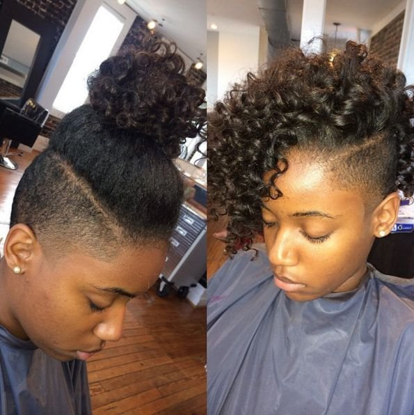The Best Shaved Sides Hairstyles For Black Hair Google Search Natural Hair Twa Short Shaved Pictures