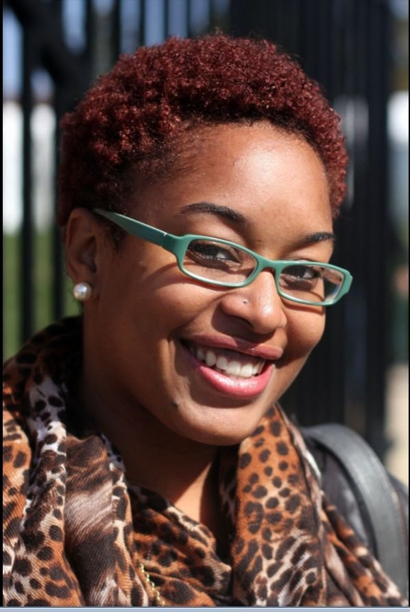 The Best Big Chop Red Luv Her Glasses Natural Beauty Pictures