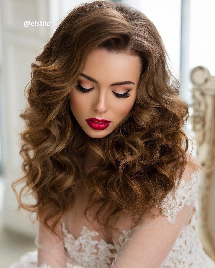 The Best Beautiful Wedding Hairstyles Down For Brides And Bridesmaids Pictures