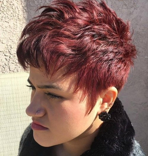 The Best 50 Edgy Shaggy Messy Spiky Choppy Pixie Cuts Choppy Pictures