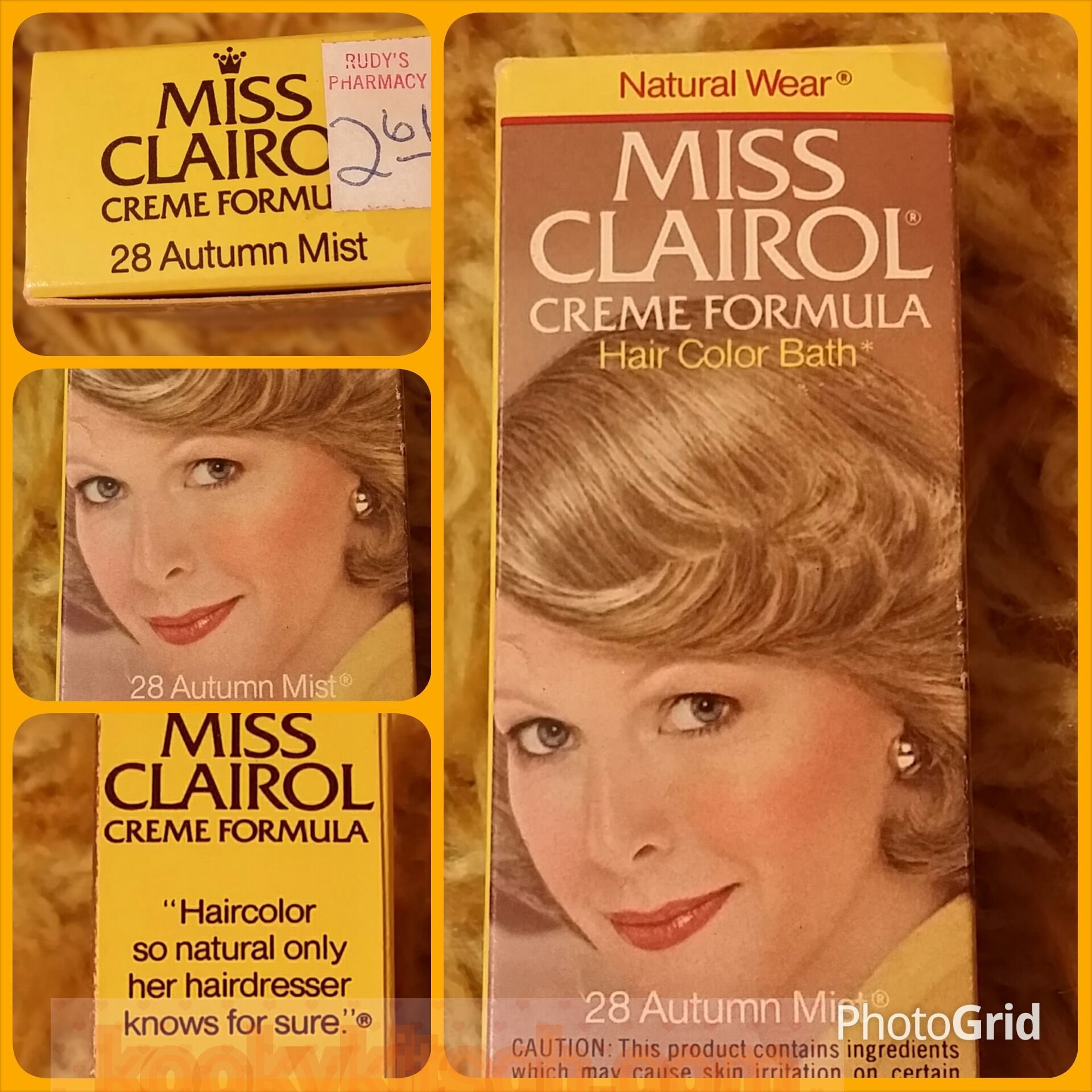 The Best Miss Clairol Creme Formula 1976 Bottle And Box Natural Wear 28 Autumn Mist Hair Color Bath Rudy Pictures